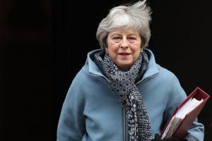 """Viceministras: britų parlamentas dėl """"Brexit"""" gali balsuoti vasario viduryje"""
