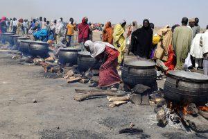 Nigerijoje per mėnesį nuo bado mirė 200 pabėgėlių