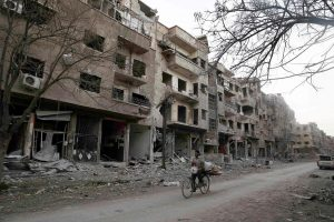 JT ir Rusijos susitikimas dėl Sirijos vyks be JAV atstovų
