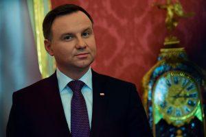 Lenkijos prezidentas pliekia ES už solidarumo su Rytų Europa stoką