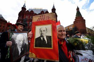 Daugiau kaip pusė rusų mano, kad V. Leniną reikia palaidoti