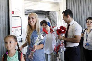 Turkijoje po ilgos pertraukos nutūpė pirmas rusų turistų lėktuvas