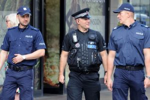 Balstogės prekybos centre detonuotas savadarbis sprogstamasis užtaisas
