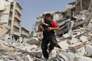 J. Kerry: Rusija turi priversti Sirijos pajėgas nutupdyti savo lėktuvus