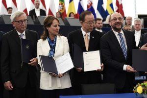 Europos Parlamentas atvėrė kelią Paryžiaus klimato sutarties ratifikavimui
