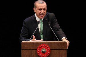 """Turkijos prezidentas: """"Rosatom"""" statoma AE turi pradėti veikti 2023-aisiais"""