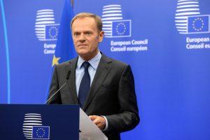 Sunerimusi ES pakvietė D. Trumpą į viršūnių susitikimą