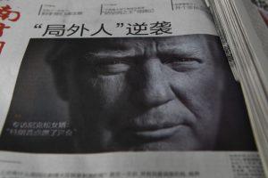 D. Trumpas gali sukelti prekybos karą su Kinija?
