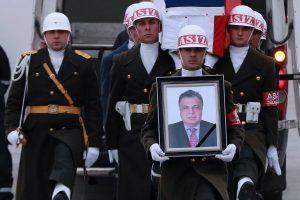 Kremlius: dar per anksti daryti išvadas dėl ambasadoriaus nužudymo kaltininkų