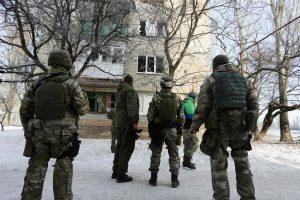 JAV pasmerkė ESBO atstovų užpuolimą Rytų Ukrainoje