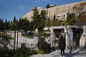 Graikijoje dėl sargų streiko uždarytas Akropolis