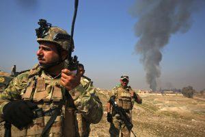 Irake per džihadistų išpuolį žuvo 15 pasieniečių