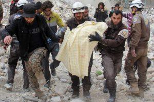 Sirijoje per antskrydį žuvo 20 žmonių, tarp jų – 14 vaikų