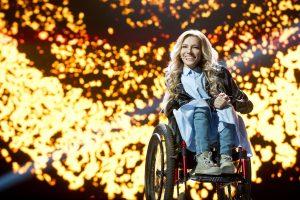 """Ukrainos transliuotojui – bauda už draudimą rusei dalyvauti """"Eurovizijoje"""""""