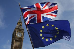 """Britų vyriausybė: JK ir ES pasiekė susitarimą dėl """"Brexit"""""""