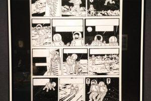 Komiksų apie Tintino nuotykius piešinys parduotas už 1,55 mln. eurų
