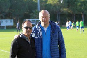 """""""Stumbro"""" treneris M. Barreto: šiemet konstruojame kitokią komandą"""