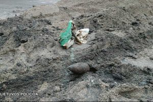 Vilniaus centre rastas sprogmuo, jį išsivežė išminuotojai