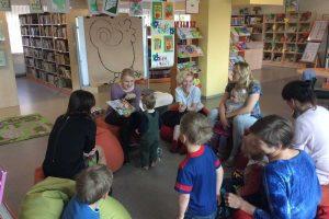 Į biblioteką Garliavoje kviečia ir kūdikius