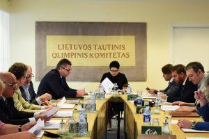 LTOK patvirtino Lietuvos olimpinę rinktinę