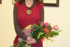 Tautodailininkės parodoje – iškarpyta meilė gimtinei