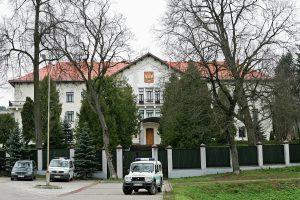 Nepageidaujamais paskelbti Rusijos diplomatai išvyko iš Lietuvos