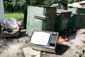 Kas atsitinka su senais televizoriais?