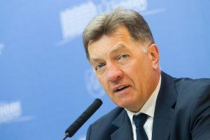 A. Butkevičius ragina Latviją ir Estiją spausti Baltarusiją dėl AE