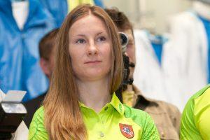 Ėjikė B. Virbalytė pasiekė geriausią sezono rezultatą pasaulyje