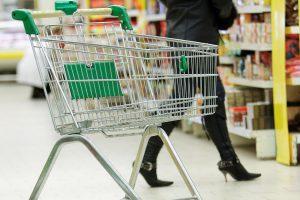 Klaipėdos prekybos centre pavogti maišai su pirkiniais
