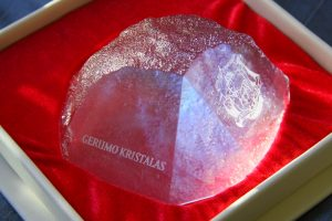 Kam šiemet bus įteikti Gerumo kristalai?