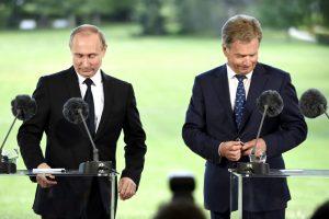 Suomijos prezidentas: dialogas su Rusija neišvengiamas