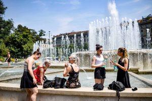 Dėl klimato kaitos teks keisti miestus: kaitros jie neatlaikys