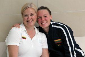 Plaukimo čempionate – dar vienas Lietuvos moterų rekordas
