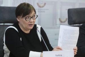 A. Maldeikienė: vaikai į šulinius nebemėtomi, bet problemos neišnyko