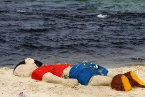Nevyriausybinė organizacija: nuskendusio migrantų vaiko nuotrauka – signalas Europai