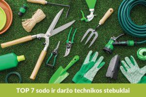 Septyni įrenginiai, kurie padės greičiau atlikti sodo ir daržo darbus