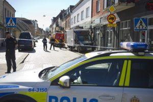 Švedijos policija sulaikė terorizmu kaltinamą vyrą
