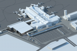 Vilniaus oro uoste vasarį prasidės terminalo rekonstrukcija
