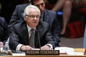 Rusija pateikė rezoliucijos projektą dėl taikos Sirijoje plano