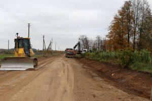 Du Kauno rajono žvyrkeliai bus padengti asfaltu