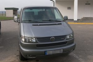 Šalčininkų punkte sulaikytas, įtariama, Vokietijoje pavogtas mikroautobusas
