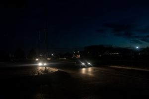 Antradienio vakarą Šilainiai buvo paskendę tamsoje