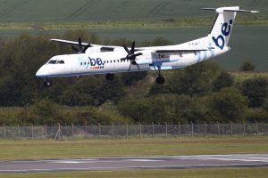 Belfaste avariniu būdu nutūpė keleivinis lėktuvas
