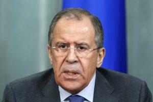 S. Lavrovo vizitas Abchazijoje pažeis tarptautinius įstatymus