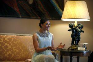 Švedijos sosto įpėdinė princesė Victoria laukiasi antrojo vaikelio