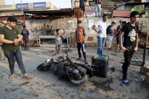 Per mirtininko išpuolį Irake žuvo 20 žmonių