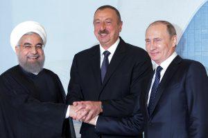 V. Putinas pasirengęs su Azerbaidžano ir Irano kolegomis aptarti naujus projektus