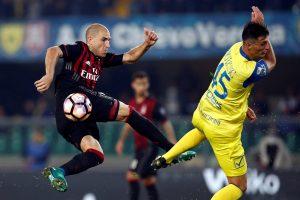 """""""Serie A"""": pergalę pasiekęs """"AC Milan"""" – lyderių trejete"""