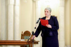 Rumunijos prezidentas atmetė kairiųjų kandidatę į premjerus